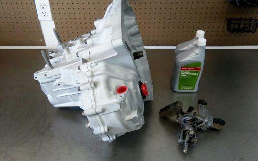 2012-2015 HONDA Si K24Z7 remanufactured 6 speed Transmission, carbon  synchros Stage 1